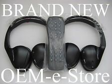 2007 to 2014 Cadillac Escalade DVD Entertainment Headphones Set + Remote 100%OEM