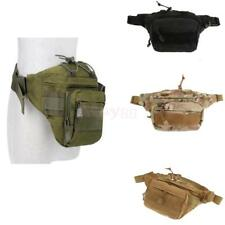 Outdoor Camping Tactical Military Sports Fanny Pack Belt Waist Bag Utility Pouch