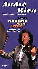 """Andre Rieu From Holland With Love (VHS Tape) 'New"""""""