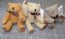 DARICE 6 INCH JOINTED BEARS - 3 COLORS TO CHOOSE FROM $6.99 EACH