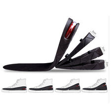 Men Increase Insole 1-4 Layer Height Heel Invisible Shoe Air Cushion Pad Taller