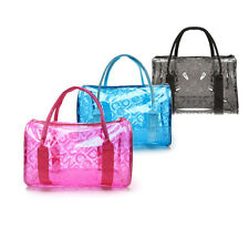 Transparent Jelly Waterproof Travel Swimming Tote Bag For Beach Swim Pool Gym