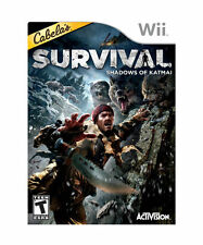 Cabelas Survival: Shadows Of Katmai For Wii Very Good