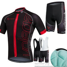 Unisex Wear Suit Cycling Bike Sports Clothing Jersey Shorts bib Short Sleeve set