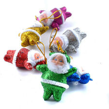 Fashion Colorful Christmas Santa Claus Ornaments Xmas Tree Hanging Decoration