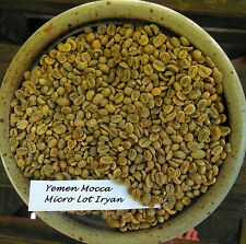 1 Pound Sample Size Green Coffee Beans Many Different Bali to Yemen Fast Ship