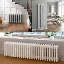 Vertical or Horizontal Traditional Cast Iron Style Column Bathroom Radiators UK