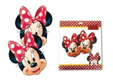 MINNIE MOUSE DRESS UP CARD MASKS - FANCY DRESS PARTY BAG FILLERS FACE MASK