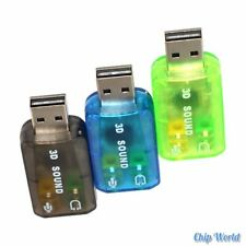 5.1 Sound Card Computer External Individual USB Free Drive Sound Card 3 Colors