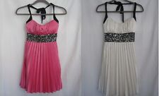 New NWT Juniors Speechless halter dress with sequin detail