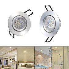 AC220V 3W LED Ceiling Recessed Downlight Fixture Lamp Kitchen Cabinet Spot Light