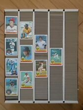 1983 TOPPS BASEBALL Singles CHOICE Complete Your Set Nm-Mt Vending Wax # 272-611