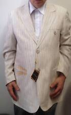 New Mens Stacy Adams Lt Tan 2B Blazer size XL NWT