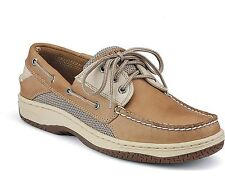 Sperry 0799023 Top Sider Mens Billfish Boat Shoe 3-Eye Tan/Beige New With Box