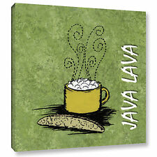 'Java Lava' Gallery wrapped canvas