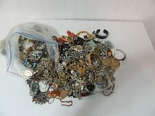 2 Lots Jewelry For Parts Repair Craft Wear Vintage to New 16 lbs Total