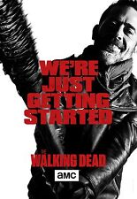 Walking Dead Season 7 Hi-Res Movie Poster We're Just Getting Started