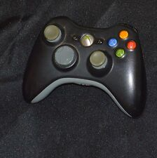 Official Genuine Microsoft xbox 360 Wireless Controller(Glossy Black with gray)