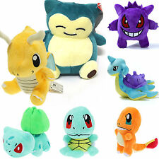 Cute Pokemon Collectibles Plush Character Soft Toys Stuffed Squirtle Child Dolls