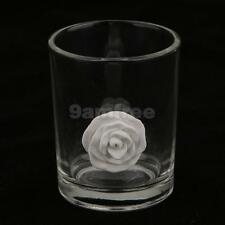 Clear Glass Votive Candle Tea Light Holders Cup