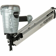 "Hitachi 28 Degree 3-1/2"" Clipped Head Framing Strip Nailer NR90AF New"