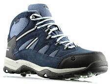 Ladies Womens New Hi- Tec Leather Suede Waterproof Hiking Ankle Boots Shoe Size