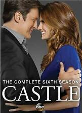 Castle: The Complete Sixth 6th Season (DVD, 2014, 5-Disc Set)  - New -Ships Fast