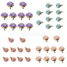 10x Cute Seashell Charms Pendants Bracelet Fit DIY Jewelry Making for Necklace