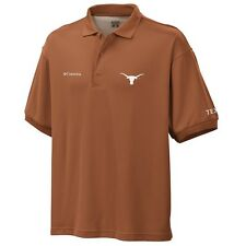 Texas Longhorns Burnt Orange Collegiate Perfect Cast Columbia Polo