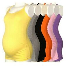 New Lady Women's Strappy Vest Tank Tops Camisole Maternity Pregnant Yoga T-shirt