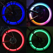 2 X Safety Bike Bicycle Cycling Car Wheel Tire Tyre LED Spoke Light Lamp Cheaply