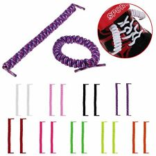 New Elastic No Tie Curly Shoe Laces Coiler Elastic Twisty Unisex Fit Kids &Adult