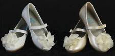 New Baby Toddler Girls Infant Ivory White Dress Shoes Flats Wedding Party Kids