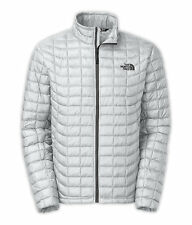 The North Face mens THERMOBALL Full Zip Jacket Highrise Grey XL