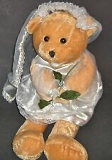 "Chantilly Lane Musical Bears  BRIDE  Bear singing ""Going to the Chapel"""