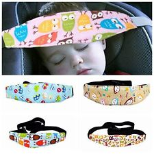 Safety Infants Baby Pram Stroller Sleep Fastening Belt Car Seat Head Support