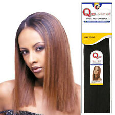 "Shake N Go Milky Way Que 100% Human Hair Yaky Weave Extension Straight 10"" - 14"""