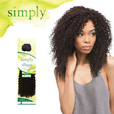 Outre Simply 100% Human Hair Bundle Weave Extension Brazilian Natural Kinky Curl