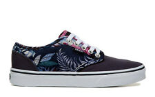 VANS WOMENS ATWOOD LOW SNEAKER BLUE FLORAL SHOES **FREE POST AUSTRALIA