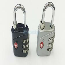 TSA Resettable 3 Digit Combination Travel Lock Luggage Suitcase Padlock