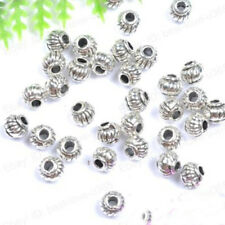 5*4MM Tibetan Charms Spacer Beads Jewelry Findings Making DIY Crafts Smart