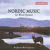 Nordic Music for Wind Quintet (CD, Sep-2000, Chandos)
