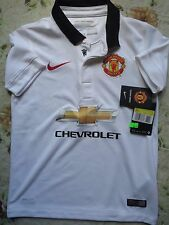 BNWT MANCHESTER UNITED 2014-15 AWAY FOOTBALL SOCCER JERSEY YOUTH BOYS SIZES