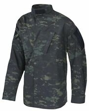 MultiCam Black Camo ACU Tactical Response Uniform Men's Shirt by TRU SPEC 1229
