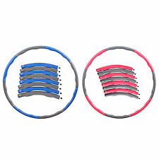 2lb / 3lb Detachable Hula Hoop Abdominal Exerciser Fitness Waist Slimming Wave