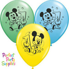 Mickeys 1st Birthday Balloons Green Yellow Party Supplies Decorations