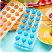 Love Heart Star Silicone Ice Ball Cube Tray Freeze Mould Jelly Chocolate Mold
