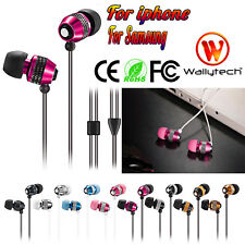 3.5mm Ultra-bass In-Ear Stereo Earbuds Earphone Headset Headphone For iPhone