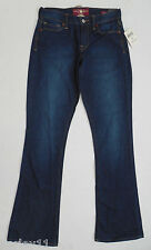 Lucky Brand dark wash Sofia Boot cut Jeans womens size  2 26 4 27 6 28 Long 34""
