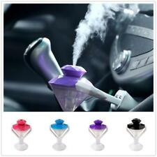 Car Portable Diamond Shape Oil Diffuser Humidifier Purifier Freshener USB